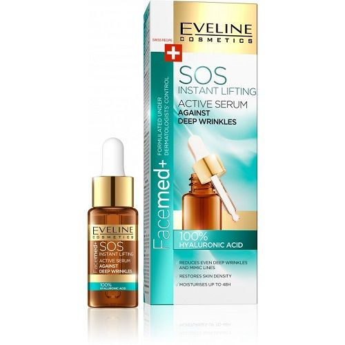 EVELINE Facemed 100% sérum HA pr.vráskám 18ml