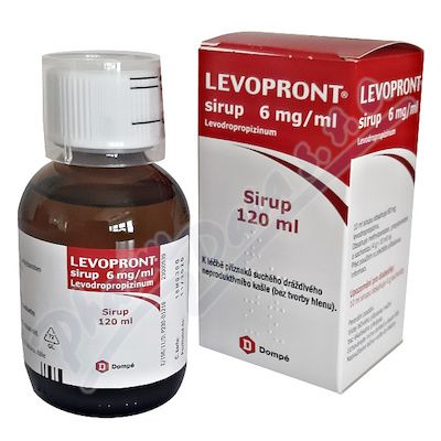 LEVOPRONT SIRUP 1X120ML SIRUP