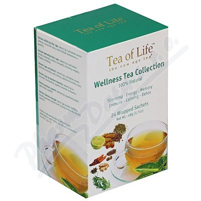 Tea of Life Wellness Tea 6 druhů n.s.24x1.5g