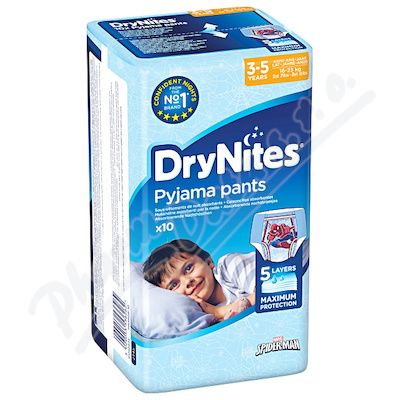HUGGIES DryNites kalh.abs.3-5 Boy 10ks