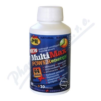 JML MultiMax Power Energy tbl.100 x44slož.vit.