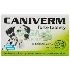 Caniverm forte tbl.