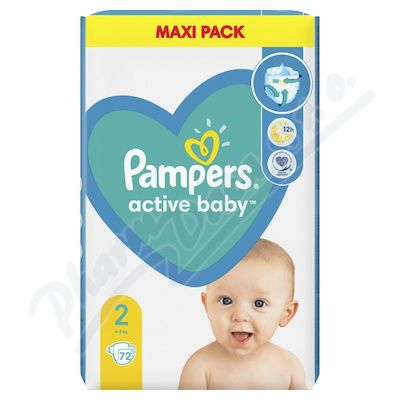 Pampers New Baby Mini 3-6 kg 76 ks