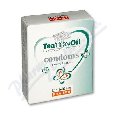 Tea Tree Oil kondomy 3ks Dr.Muller