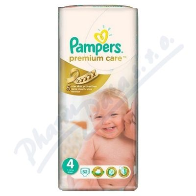 Pampers Premium Care 7-14 kg, 52 ks