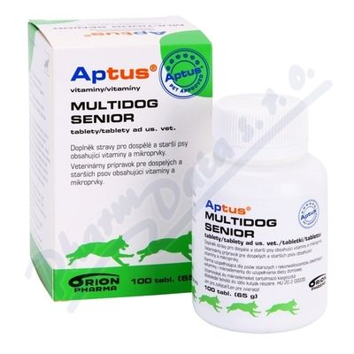 APTUS MULTIDOG SENIOR 100 TBL.